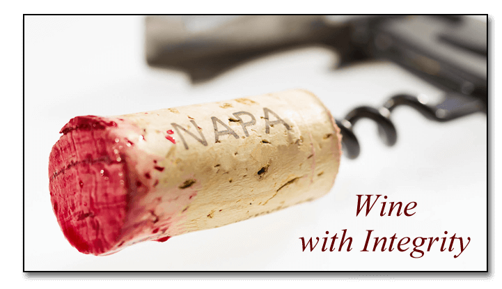Napa Private Label Wine Cork