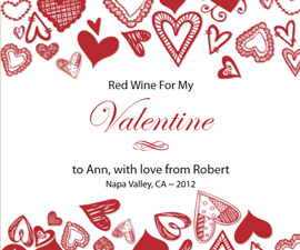 Valentines Day Wine Gifts